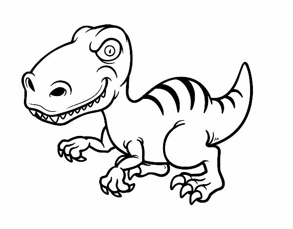 Dessin de dinosaure velociraptor colorie par membre non inscrit le 01 de juin de 2015 - Top coloriage dinosaures ...