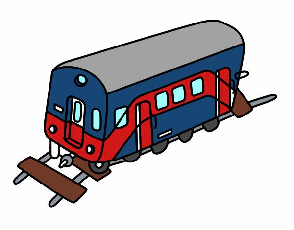 Dessin de wagon colorie par membre non inscrit le 01 de - Dessin train et wagon ...