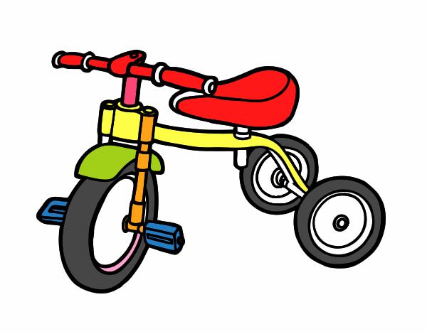 dessin de tricycle pour enfants colorie par membre non inscrit le 10 de juin de 2015. Black Bedroom Furniture Sets. Home Design Ideas