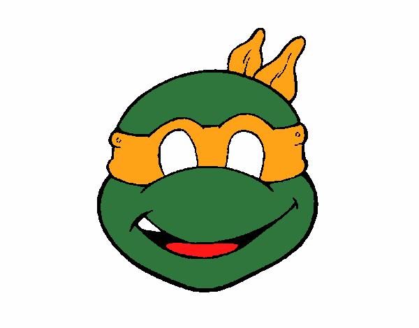 Dessin De Masque Tortue Ninja Colorie Par Membre Non Inscrit Le 15 De Juin De 2015 à Coloritou.com