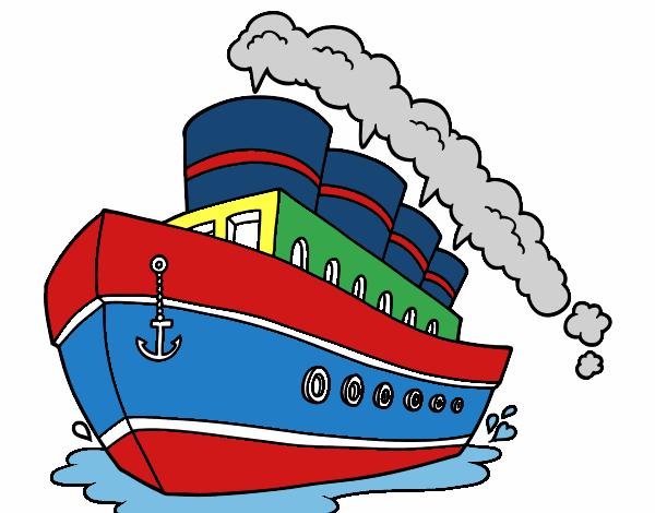 Dessin De Paquebot Colorie Par Membre Non Inscrit Le 18 De Juin De 2015 A Coloritou Com