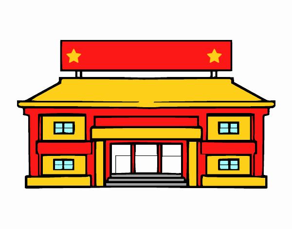 Super Dessin de École primaire colorie par Membre non inscrit le 28 de  SP16