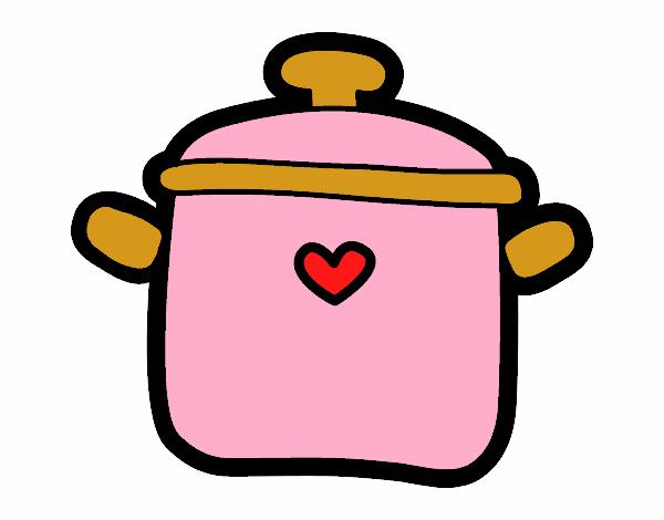 Dessin Marmite dessin de marmite colorie par membre non inscrit le 05 de août de