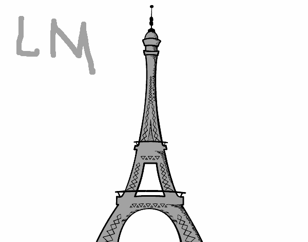 Dessin Tour Eiffel
