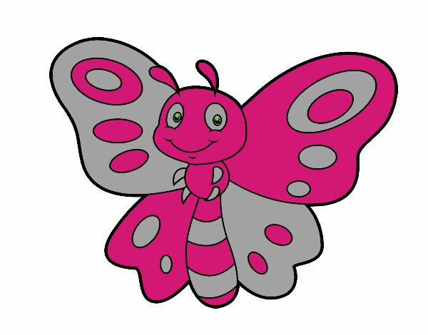dessin de papillon fantaisie colorie par membre non inscrit le 02 de septembre de 2015. Black Bedroom Furniture Sets. Home Design Ideas