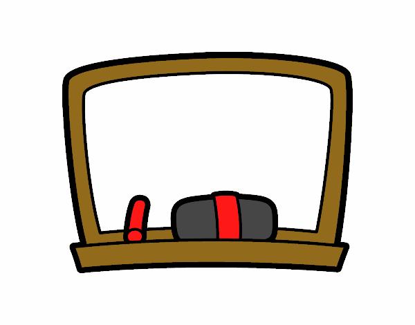 dessin de tableau noir de l 39 cole colorie par membre non inscrit le 17 de septembre de 2015. Black Bedroom Furniture Sets. Home Design Ideas