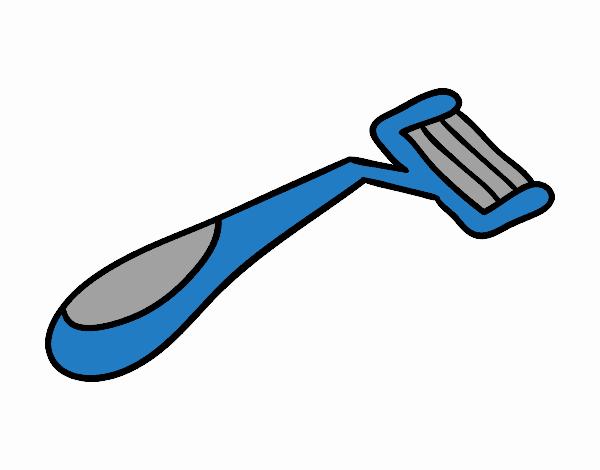 Dessin de rasoir colorie par membre non inscrit le 24 de for Prise rasoir salle de bain