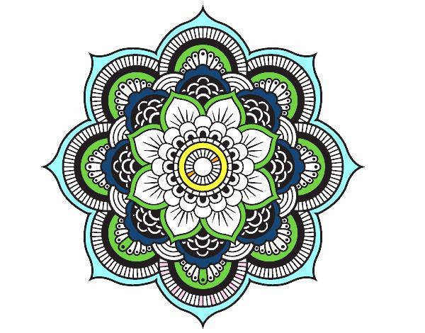 Dessin fleur orientale id e d 39 image de fleur - Dessin oriental a imprimer ...