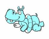 Hippopotame piscine