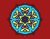 Mandala symétrique