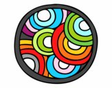 Mandala ronde