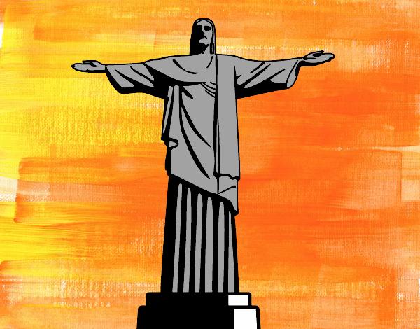 Dessin Christ Redempteur dessin de le christ rédempteur colorie par membre non inscrit le 11