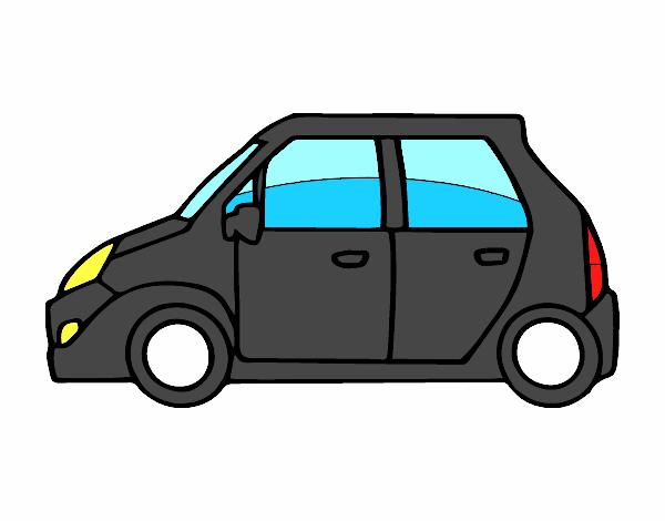 dessin de petite voiture colorie par membre non inscrit le 18 de d cembre de 2015. Black Bedroom Furniture Sets. Home Design Ideas