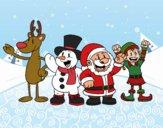 Père Noël et ses amis