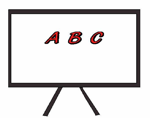 Dessin de tableau noir colorie par s adiane le 26 de janvier de 2016 colori - Tableau noir en ligne ...