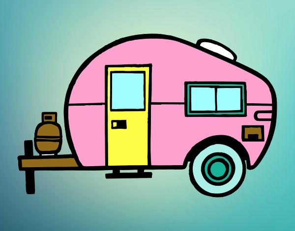 dessin de caravane moderne colorie par membre non inscrit le 01 de mars de 2016. Black Bedroom Furniture Sets. Home Design Ideas