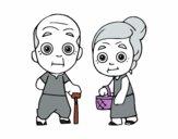 Arrières grands parents