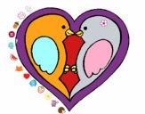 Petits oiseaux amoureux