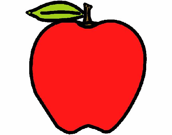 Dessin De Pomme Colorie Par Membre Non Inscrit Le 15 De