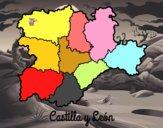 Coloriage Castille-et-León colorié par raphael