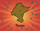 Coloriage Navarra colorié par raphael