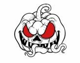 Citrouille terrifiant