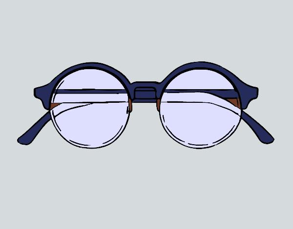 Dessin De Lunettes dessin de lunettes rondes colorie par membre non inscrit le 25 de