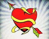 Cœur avec une flèche III