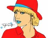 Taylor Swift avec chapeau