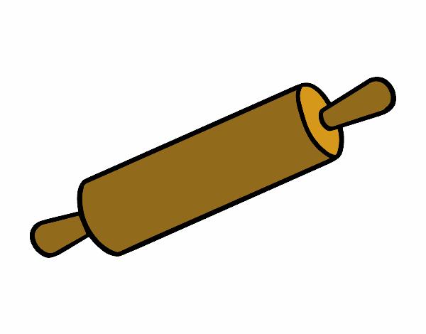 Un rouleau à pâtisserie