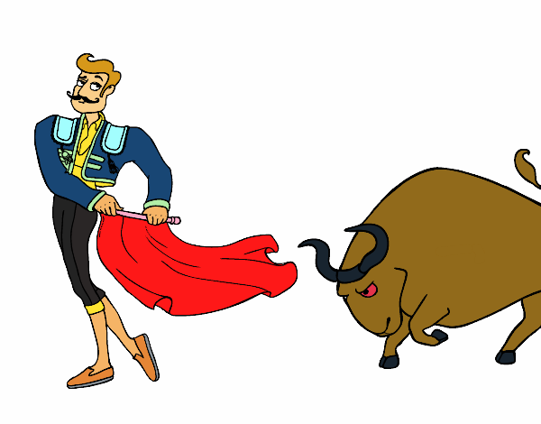 Dessin de torero colorie par membre non inscrit le 10 de - Dessin de toro ...