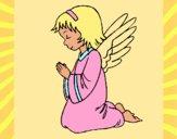 Ange qui prie