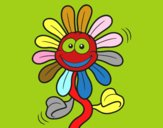 Fleur animée