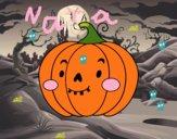 Citrouille d'Halloween sympathique