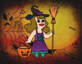 Déguisement de sorcière Halloween