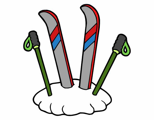 """Résultat de recherche d'images pour """"ski dessin"""""""