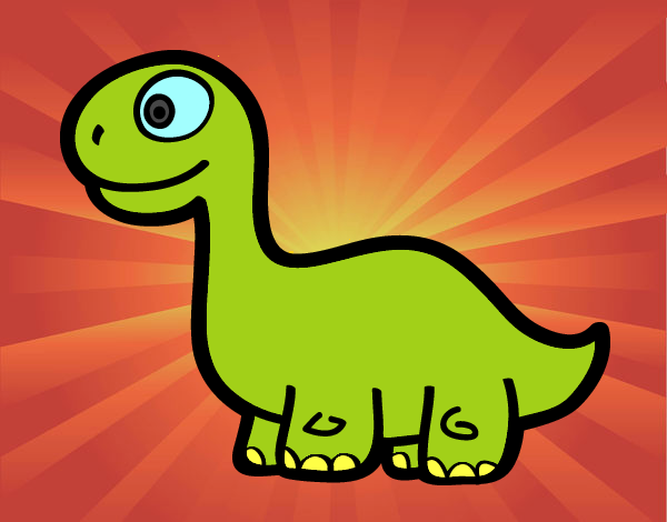 Bébé Diplodocus