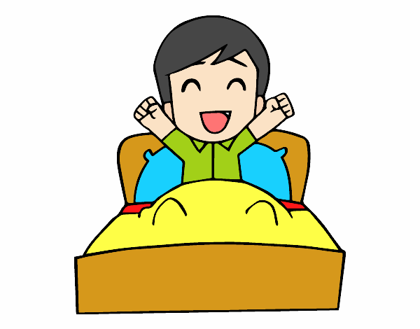 dessin de temps de se r veiller colorie par tounekti le 21 de novembre de 2016. Black Bedroom Furniture Sets. Home Design Ideas
