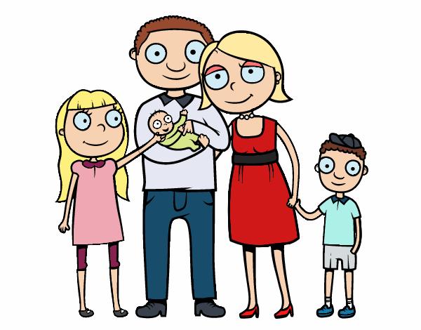 Dessin de Famille ensemble colorie par Membre non inscrit ...
