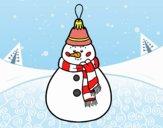 Décoration de Noël Bonhomme de neige