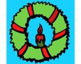 Couronne de Noël II