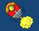 Une fusée