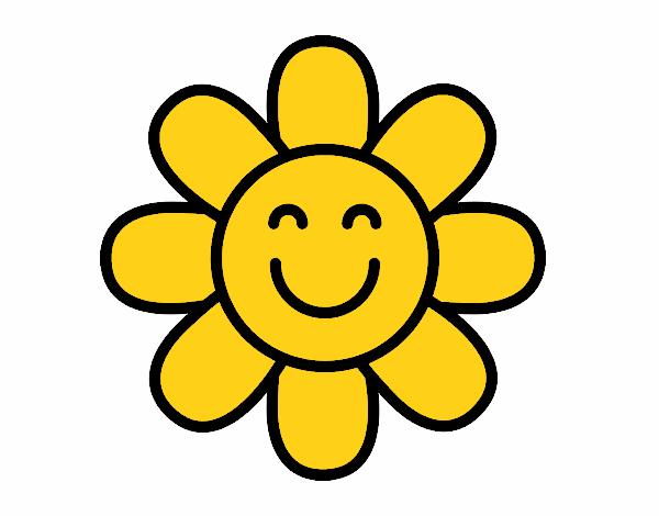 Dessin De Fleur Simple Colorie Par Membre Non Inscrit Le 14 De