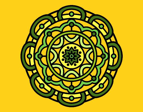 Mandala pour la relaxation mentale