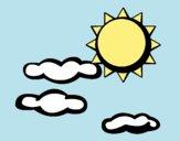 Soleil et nuages 2