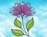 Fleur décorative