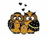 Famille hibou