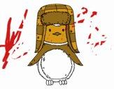 Penguin avec chapeau
