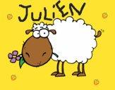 Moutons avec fleur