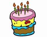 Gâteau d'anniversaire 2